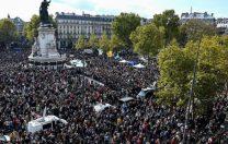Zeci de mii de francezi au ieșit în stradă, după uciderea lui Samuel Paty