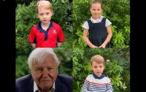 Ce l-au întrebat cei trei copii ai cuplului regal William și Catherine pe naturalistul David Attenborough