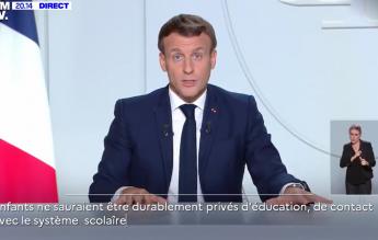 Franța a ales: intră în carantină națională, dar școlile, creșele și grădinițele rămân deschise