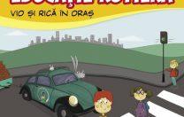 """A apărut primul manual de educație rutieră pentru copii: """"Vio și Rică prin oraș"""""""