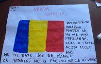"""Ce ne-ar spune România? Răspunsurile unor elevi: """"Nu vă bateți joc de mine!"""" """"Măștile trebuie să stea pe față, nu pe jos!"""""""