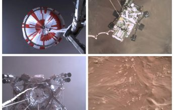 NASA a difuzat primul videoclip de pe Marte, transmis de Perseverance