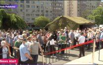Digi 24: Sute de oameni stau la coadă, la Maratonul Vaccinării din București
