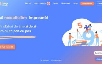 """""""100 de zile până la examen"""": Platformă gratuită pentru elevii de clasa a VIII-a"""