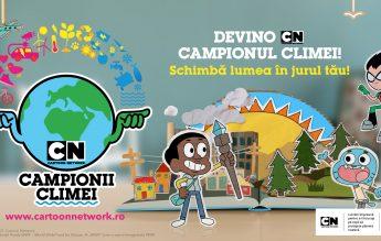 Studiu Cartoon Network:  91% dintre copii sunt preocupați de schimbările climatice