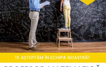 Liceul Româno-Finlandez caută PROFESOR DE MATEMATICĂ