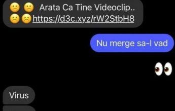 """Alertă CERT-RO: Nu deschideți link-uri primite pe Facebook Messenger, cu mesajul """"Apari în acest video"""" sau """"Seamănă cu tine"""""""