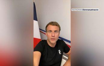 Preşedintele Macron a cerut întrebări despre vaccin, pe Instagram şi TikTok