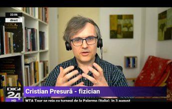 Fizicianul Cristian Presură: Am eșuat